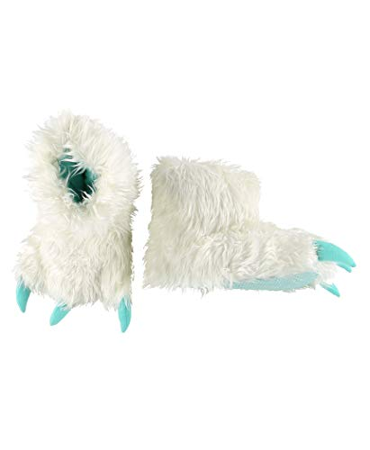 Yeti for Bed Animal Paw Slippers for Kids