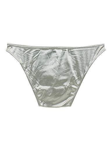 64b40ba7ae986 Underwear Men 6 Pack Satin Panties Set Bikini from S to Plus Size (XL)