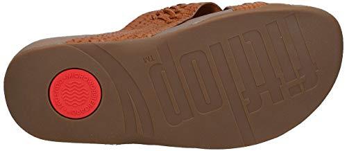 FitFlop-Men-039-s-Surfer-Slide-Woven-Leather-Croc-Embo-Choose-SZ-color thumbnail 5