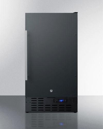 18″ Wide Built-In All-Refrigerator – Black