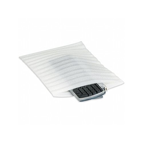 Box Packaging Air Foam Flush Cut Pouch, 12'' x 12'' - Case of 150 by Box Packaging