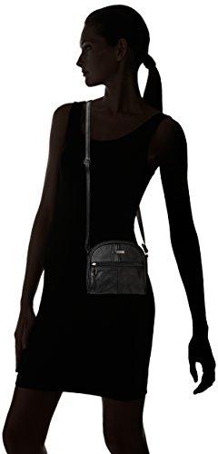 Lorenz - Bolso cruzados para mujer negro