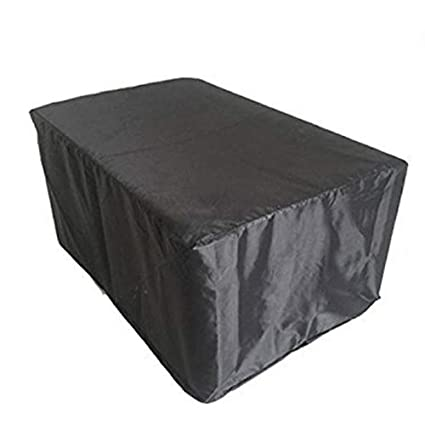 Awe Inspiring Furniture Cover Waterproof 420D Oxford Garden Patio Deck Outdoor Table Cover Large Square Furniture Set Cover With Convenient Storage Bag Hzc01 Us 83 Theyellowbook Wood Chair Design Ideas Theyellowbookinfo