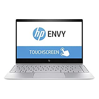 HP Envy 13T 13.3in IPS EDGE-to-EDGE TouchScreen 4K UHD (3840x2160) Business Laptop (Intel Quad-Core i7-8550U, 512GB PCIe NVMe M.2 SSD, 16GB RAM, NVIDIA MX150, Type-C, Windows 10 (Renewed)