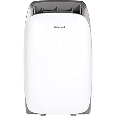 Honeywell HL14CESWG HL Series 14000 BTU Portable Air Conditioner with Remote Control, White/Gray
