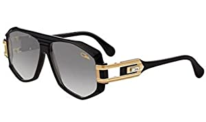 Cazal 163 001SG Sunglasses, Shiny Black Gold 59 mm