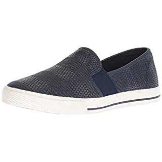 Lauren Ralph Lauren Women's Jinny Sneaker, Navy, 8 B US