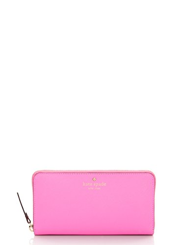 Kate Spade lacey Saffiano Leather Zip Around Wallet, Rouge Pnk by Kate Spade New York