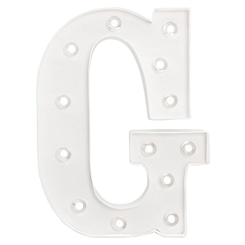 American Crafts Heidi Swapp 10 Inch Marquee Letters Letter (Letter G Crafts)