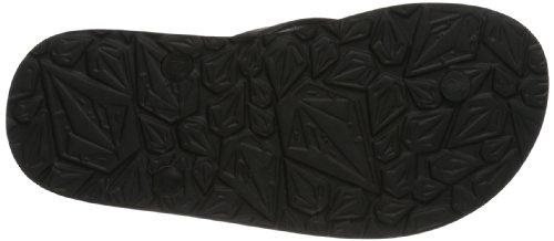 Volcom Rocker Sandal - Chanclas Unisex adulto Negro (Schwarz (BLACK WHITE BWH))