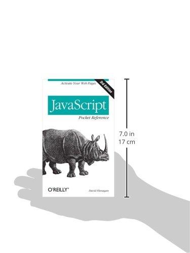 Javascript Pocket Reference 3rd Edition Pdf