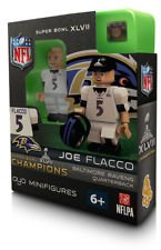 NFL Baltimore Ravens Joe Flacco Super Bowl Champion OYO Figure