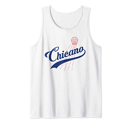 - Cool Los Angeles Chicano L.A. Baseball Fans Tank Top