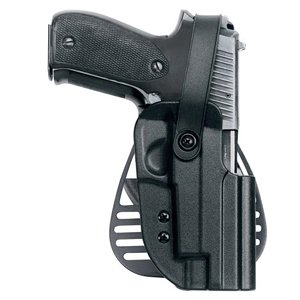 Uncle Mike's Kydex Thumb Break Paddle Holster HK P2000, USP Compact Left Hand 56312