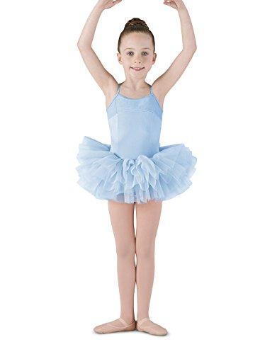 Mirella Girl's Corset Back Camisole Dance Tutu Dress