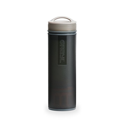 GRAYL Ultralight Water Purifier [+ Filter] Bottle (Black)