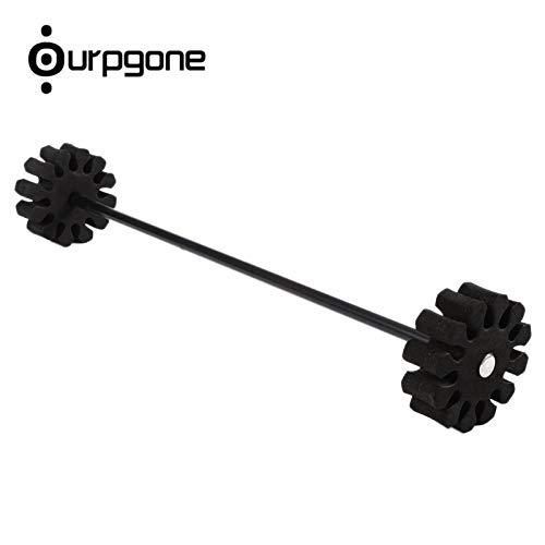 (CUSHY Ourpgone Brand 12 Arrows Separator Hign Quality Quiver Arrow Holder Separator Quiver Insert Foam+ ! : Black)