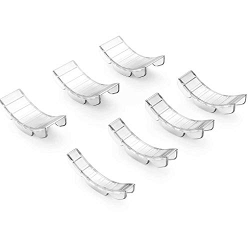 White 14 Pieces Reducer Ring Guard For ... Eiito Ring Size Adjuster Invisible