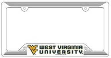 WinCraft NCAA Auburn Tigers Alumni Inlaid Metal License Plate Frame 2-Tag Corners