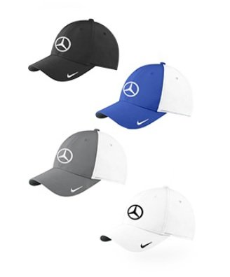 af927b1a0d181 Mercedes Lifestyle Collection Nike Golf Swoosh Cap (Black ...