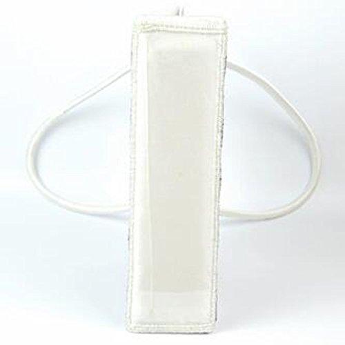 Personalizado A Cuadros Las Bolsas De Asas Blanco Y Negro Las Mujeres Bolso De La Cena OneColor