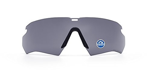 (ESS Eye Pro Replacement Lens for Crossbow Ballistic Eyeshield, Polarized Gray  )