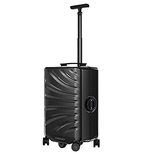 Auto-Follow Travel Smart Suitcase,Hands Free Smart Robot Luggage Case with 6 Rotation Wheel and Human Body Recognition…