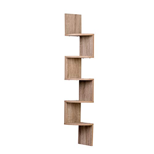 Used, Danya B. XF11035OK Large Rustic Decorative 5-Tier Corner for sale  Delivered anywhere in USA