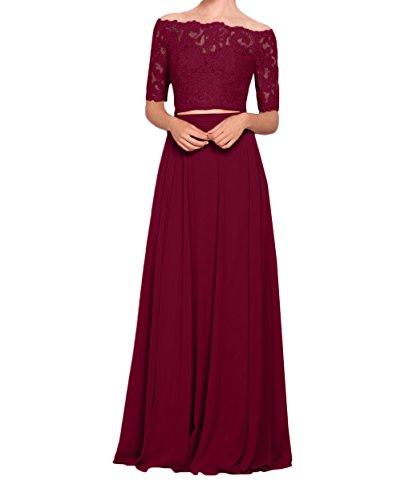 Abendkleider Weinrot Marie Meerjungfrau La Rosa Kleider Rock Kleider Spitze Braut Festliche Jugendweihe Zx8wqgB