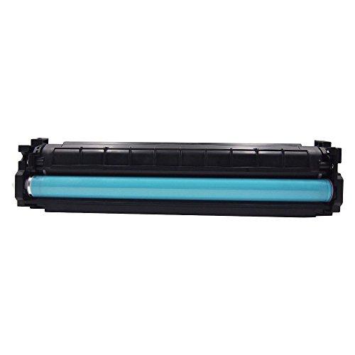 HaloFox 1 Set Toner Cartridges Compatible For 410A Toner CF410A CF411A CF412A CF413A For Color LaserJet Pro M452nw M452dw M452dn MFP M477fdn M477fnw M477fdw Printer (4Pcs, Black Cyan Yellow Magenta) Photo #3