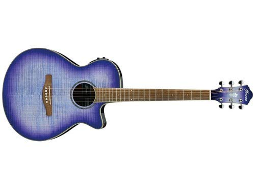 Ibanez AEG19II Acoustic-Electric Guitar (Purple Iris Burst)