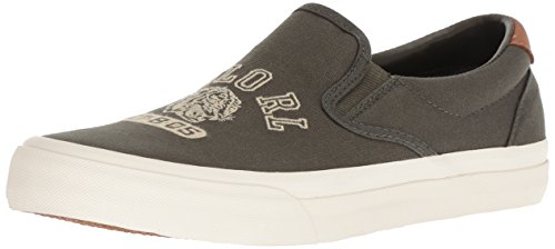 Polo Ralph Lauren Men's Thompson P Sneaker, deep Olive, 11.5 D US