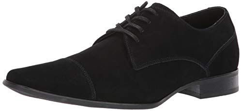 (Calvin Klein Men's Bram Oxford, Black Suede, 10 M M US)