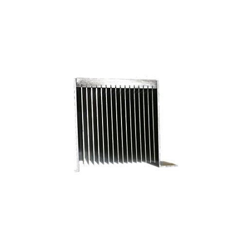 "12"" inch Aluminum High Power Bonded Fin Heat Sink Assembly for Natural or Forced Air Convection – 16 Fin with Mounting Brackets by Machtron (Image #3)"