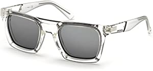 Sunglasses Diesel DL 0250 26C crystal / smoke mirror