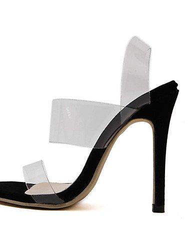 GGX/ Damenschuhe-High Heels-Lässig-PU-Stöckelabsatz-Absätze-Schwarz black-us6 / eu36 / uk4 / cn36