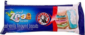 - BAKERS ICED ZOO BISCUITS 2 BY 150GM PACKETS PRODUCT OF SOUTH AFRICA
