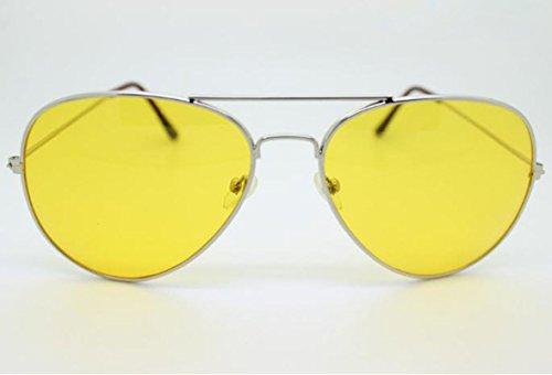 Gafas al y Mujere Plata Hombres Libre Las de Con de Visión Aire Nocturna de Gafas Sol Sol de Gafas Estilo Ruikey BqF0xISwn