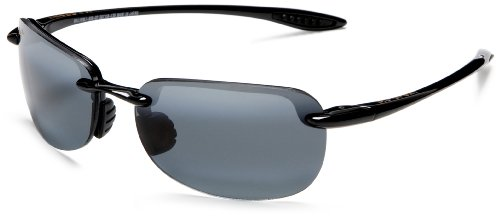 Maui Jim Sandy Beach,Gloss Black Frame/Neutral Grey Lens,one size by Maui Jim