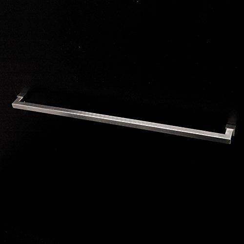 [해외]라카 바 (Lacava) 벽걸이 형 24 1 2 W 스테인레스 스틸 타올 바. /Lacava Wall-mount 24 1 2 W towel bar made of stainless steel. Polished Stainless Steel Quadro