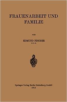Book Frauenarbeit und Familie by Edmund Fischer (1914-01-01)