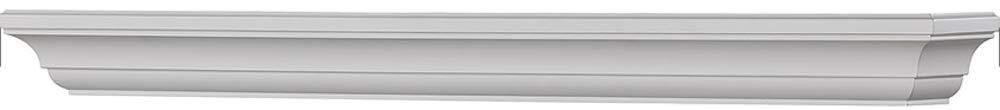 Mantels Direct Colton 72-Inch Fireplace Mantel Shelf, White by Mantels Direct