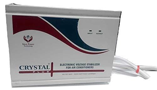 Crystal 4 KVA Voltage Stabilizer for Split/Inverter AC Upto 1.5 Ton AC  100% Copper