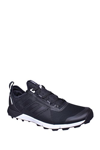 (adidas outdoor Men's Terrex Speed Black/Black/White 11 D US)