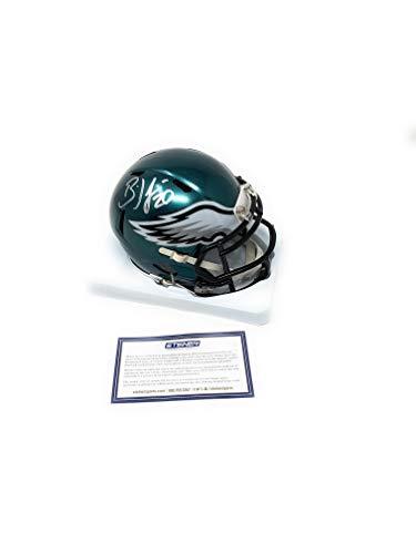 Steiner Memorabilia - Brian Dawkins Philadelphia Eagles Signed Autograph Speed Mini Helmet Helmet Steiner Sports Certified