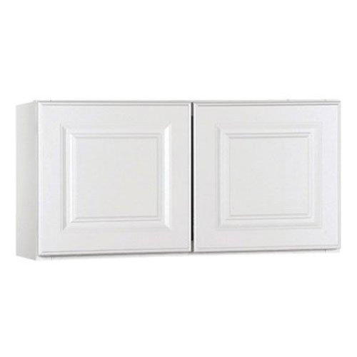 Rsi Home Products Sales CBKW3015-SW White Finish Assembled Wall Cabinet, 30