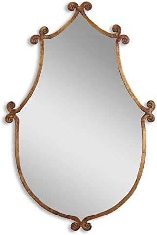 Uttermost Ablenay Mirror in Antiqued Gold