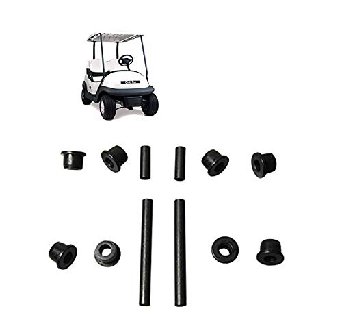 Front Upper A Arm Suspension for Club Car Precedent Golf Cart,Bushing and Sleeve Kit 102287601 102287701