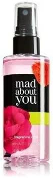 Bath and Body Works Mad About You Fragrance Mist 3 Ounce Travel Size