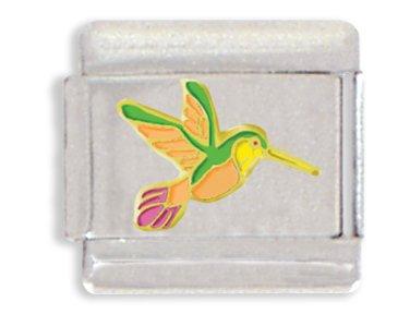 Hummingbird Italian Charm Bracelet Link - Charming Links
